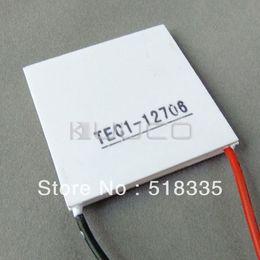 Wholesale Tec1 Peltier - TEC Peltier TEC1-12706 Tec Thermoelectric Cooler Cooling Peltier Plate 36W 12V 40mmx40mm Manufacture
