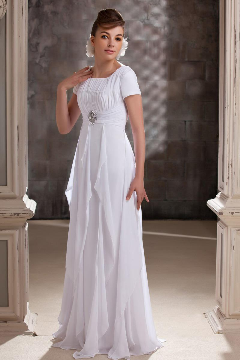a8f70c32a99 Chiffon Evening Dresses With Sleeves - Gomes Weine AG