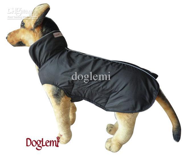 Envío gratis, chaqueta de invierno para perros, tela impermeable para perros con reflejo, 7 tamaños y colores disponibles