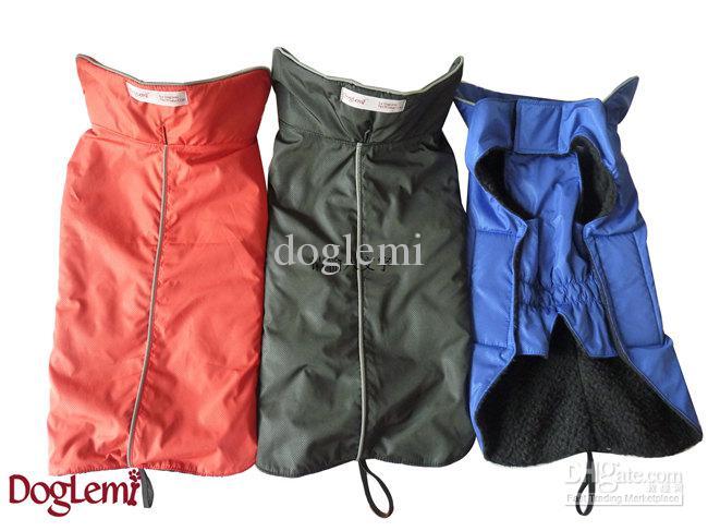 Livraison gratuite, manteau d'hiver pour chien, tissu pour chien imperméable avec réflecteur, taille 7 et couleurs disponibles