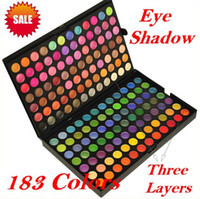 New Full 183 Colors Eye Shadow Palette for Make Up Warm Colo...