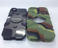 Wholesale Iphone 4s Case Cars - dustproof 10pcs Armored Vehicle Case RGBmix Armored Car Case for iphone 4 4S Extrem Protective Cover
