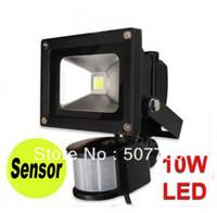 Wholesale Induction Spot Light - LED induction lamp infrared response spot flood lights sensor IP68 out door waterproof 86v-265v
