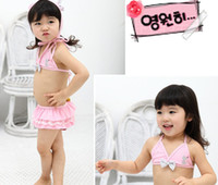 Wholesale Swimwear Girl Sunscreen - kids bathing children swimsuit suit girl sunscreen bathing suit children swimwear Kids wear bikini