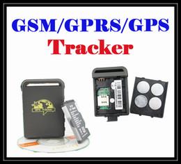 Wholesale Gps Tracker Cheap - Cheap mini GPS Personal Vehicle Car Tracker GPS track tracking GPS GPRS GSM TK102