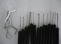 свободный набор замков замка оптовых-Бесплатная доставка Advanced 14-Pieces Set Lock Picks слесарь инструменты замок инструменты отмычку