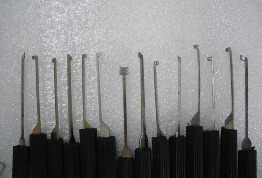 Livraison gratuite Advanced 14-Set Set Lock Picks outils de serrurier outils de verrouillage pick pick