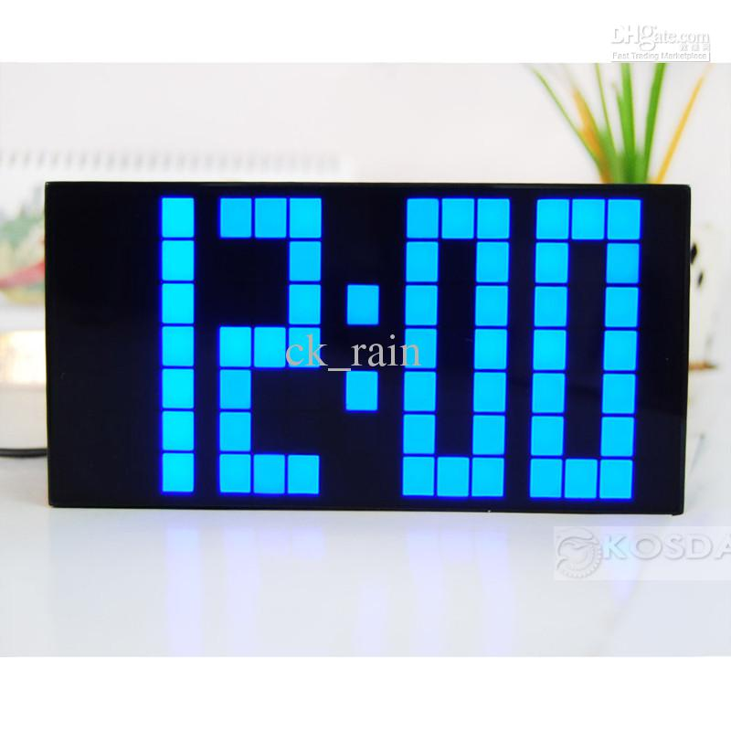 2019 Large Led Jumbo Alarm Wall Clock Countdown Display Digital