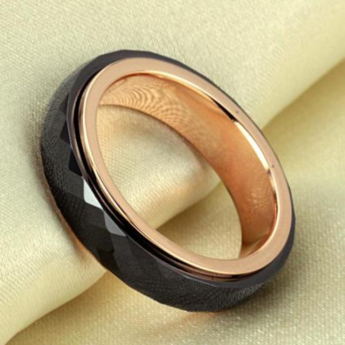 2013 New Fashion Diamond Phombus Non Metal Ceramics Rings