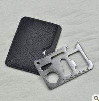 Wholesale Marine Tool Wholesale - 11 in 1 wholesale Emergency Outdoor Multi Tool Army marine military Hunting Survival Kit Pocket