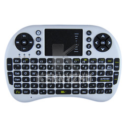 Pc Portable Games Canada - Via free DHL Mini Portable 2.4G Wireless Multifunction Keyboard UKB-500-RF Air Flying Mouse Touchpad For PC Smart TV Game White Black