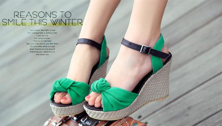 93ef36fda96 2013 Women s Summer Shoes Open Toe Wedges Platform Shoe New Arrival Bohemia  Flower High Heeled Sandals Buy Shoes Online Wedge Boots From  Focalprice2013