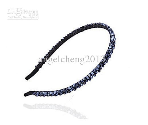 bandeau en cristal vintage / bandes de cheveux / carte de cristal / coiffure perlée asaorted 24pcs / lot JZ-092