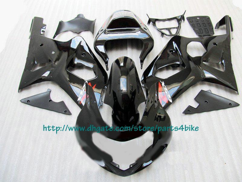Venda quente preto Carenagem Para SUZUKI 2000-2002 GSX-R1000 GSX R1000 00 02 GSXR 1000 K2 Caravanas RX4A a1