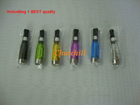 Wholesale Super Atomizer Ce5 - Bestselling super quality Colorful CE5 CE6 atomizer plus upgrade ce4 for ego EGO-T series JPYE 510 E-cigarette From Factory churchill shop