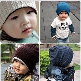 Wholesale Mj Baby - baby hat MJ beanies kids caps kids hats childrens hats baby beanie baby beanies 4colors