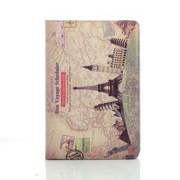 Wholesale Ipad New Retro - 2013 Brand !New Retro Collection PU Leather Case Cover for iPad Mini 5pcs lot free shipping