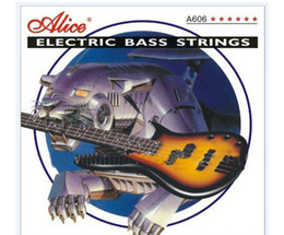 Wholesale Alice Strings - NEW 6 strings Bass Guitar strings 6 string bass strings Alice
