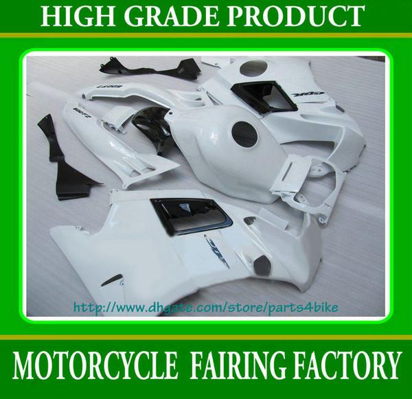 Carenado blanco puro de alta gama para Honda CBR600 F2 1991-1994 CBR 600 F2 CBR-600 F2 91 92 93 94 RX2c 2c