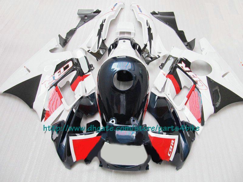 Nous vendons le meilleur carénage blanc rouge pour Honda CBR600 F2 1991-1994 CBR 600 F2 CBR-600 F2 91 -94 RX3c c