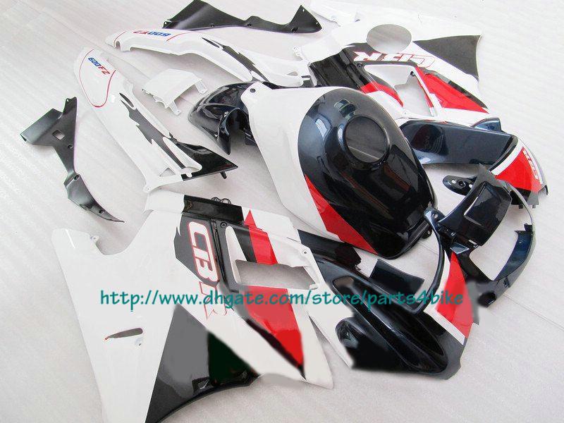 WE sale best red white fairing for Honda CBR600 F2 1991-1994 CBR 600 F2 CBR-600 F2 91 -94 RX3c c