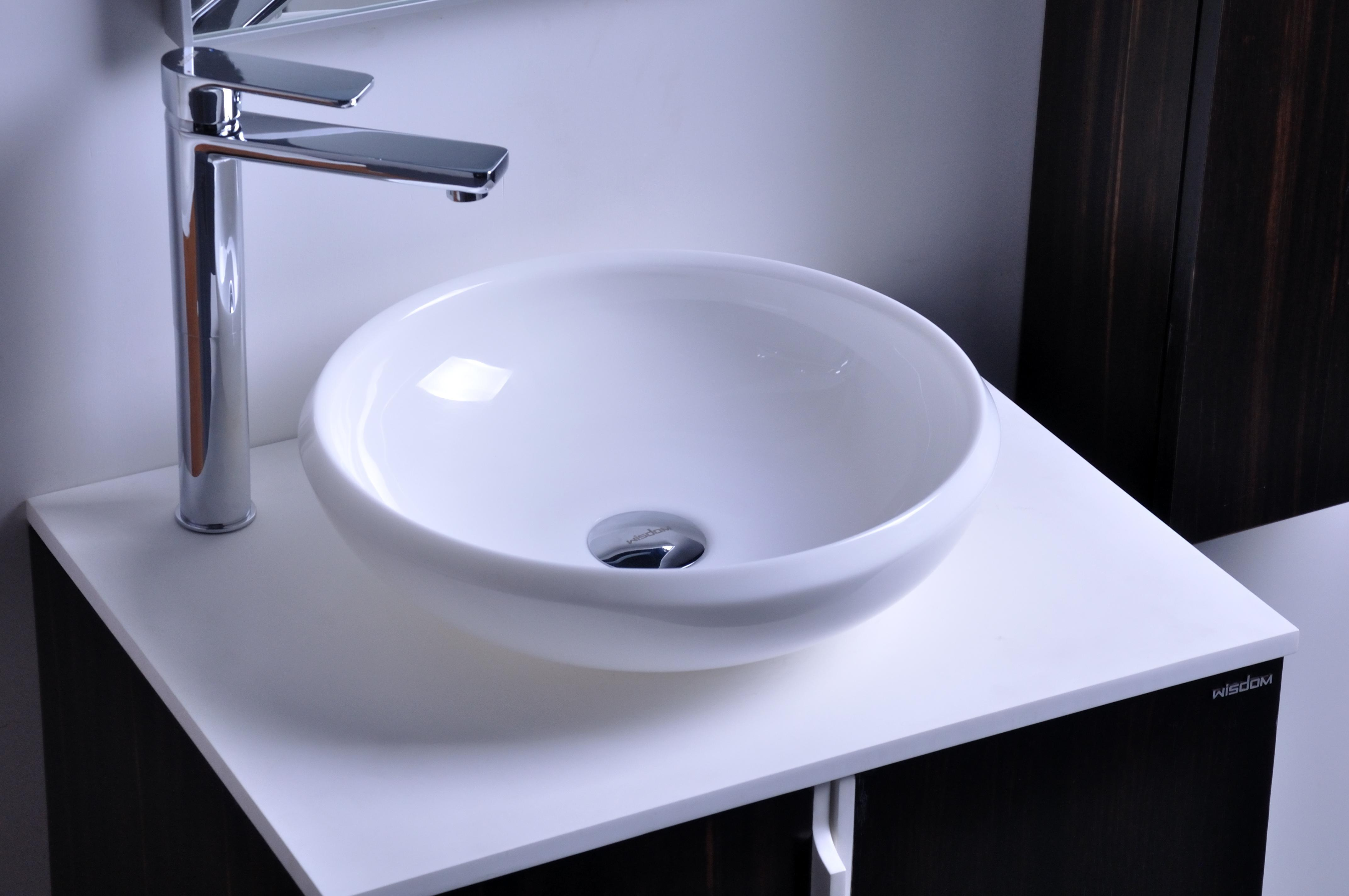 Superieur 2017 Cupc Certificate Resin Round Counter Top Sink Colored Cloakroom Wash  Basin Solid Surface Stone Bathroom