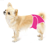 Wholesale Dog Sanitary Diapers - Free shipping! MOQ 10pcs with mixed sizes, Female dog pant, sanitary dog pants, hygienic dog pant, 4colors