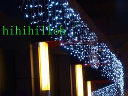 Wholesale Purple Icicle Lights - String Lights 10m*0.65m 320led Light Flashing Lane Led String Lamps Curtain Icicle Christmas Home Festival 100v-220v Eu Uk Us Au