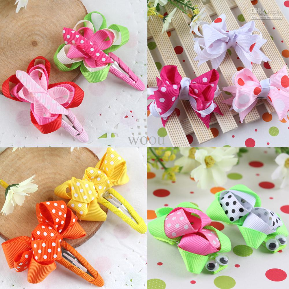 Hair Flower Clips Baby Ribbon Bows With Clips Shabby Flower Hair Clips Girls Hair Accessory Hb086 Pink Hair Accessories Hair Accessories Baby Girl From Woou 30 63 Dhgate Com