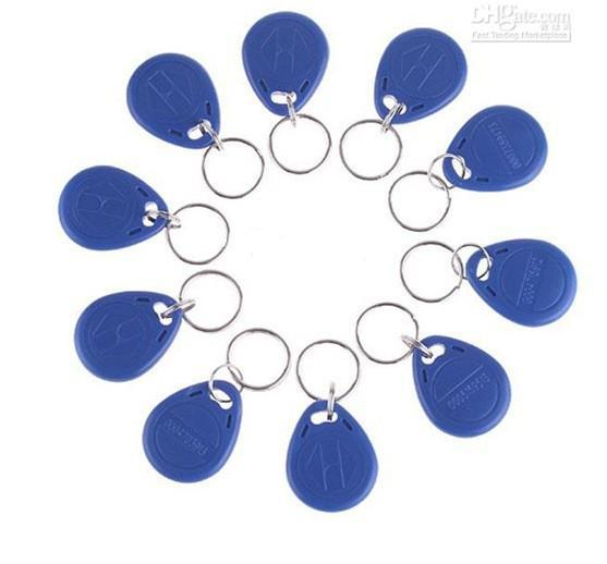 best selling Wholesale - For Access Control Use 100pcs 125Khz RFID Proximity ID Card Key fobs