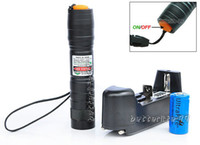 Wholesale Laser Pointer Military Charger - Astronomy High-Power Military Green Beam Laser Pointer Tactical Pen+Battery Charger