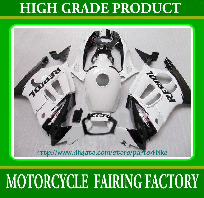 Popular in china white fairing for Honda CBR600 F3 1997 1997 CBR 600 F3 CBR-600 F3 97 98 RX2x 2x