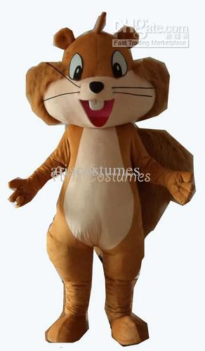 See larger image & Squirrel Mascot Costume Custom Made Mascot Fancy Dress Costumes ...