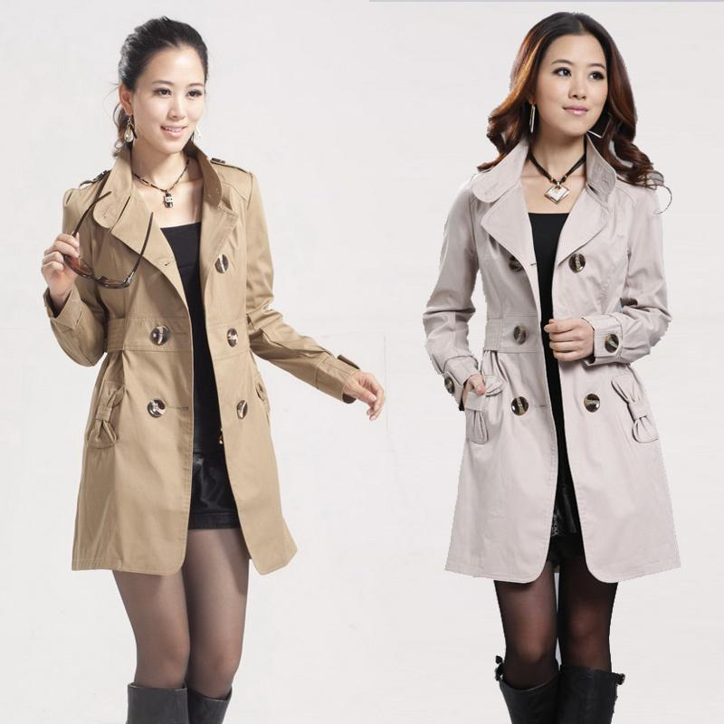 Online Cheap Trench Coat 2013 Spring Double Breasted Trench Slim ...