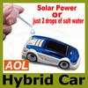 New energy toy Solar and Salt Water Hybrid Car Solar Power Toy Salt Water toy car For Children Gift