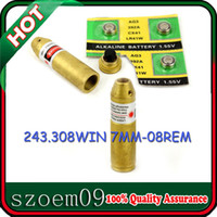 Wholesale Laser 7mm - .308 243 and 7mm-08 Laser Cartridge Laser Bore Sight  Bore Sighter