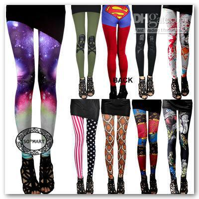 26f69a2a84437 2019 Novelty Skull Bone X Ray Rock Punk Funky Sexy Leggings Tights Pants  From Huangyanhui, $11.39 | DHgate.Com