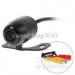 frete grátis Super Mini Car Rear View estacionamento de volta invertendo câmera / com 170degree impermeável