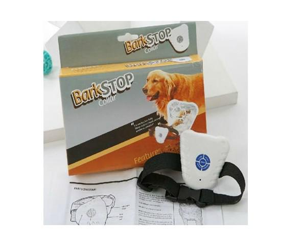 Hot sale 20pcs/lot Ultrasonic Dog Anti Bark Collar Dog Bark Stop Barking Control Collar