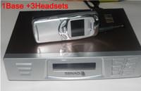 Wholesale Handset Base - DHLfree SENAO 15KM long range cordless telephone SN 629 <1 base+ 3 handsets Duplex Intercom>