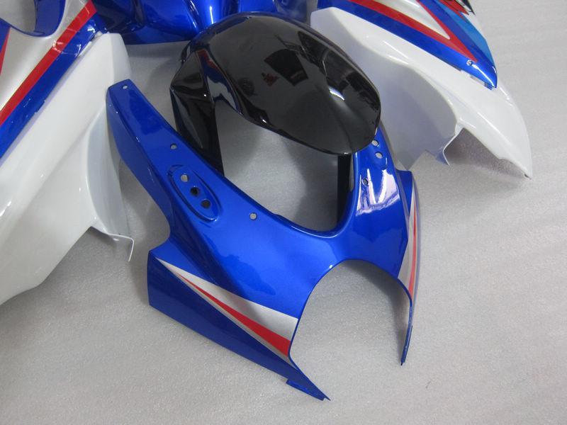 Kit de Fairng moldados por injeção para Suzuki GSXR1000 K7 2007 2008 GSXR 1000 07 08 Aceitar personalizar a cor