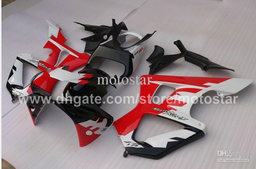 Kit de carénage personnalisé rouge blanc de haute qualité pour CBR900RR 929 2000 2001 CBR900 929RR CBR929 00 01 Kit de carénage de réparation de carrosserie