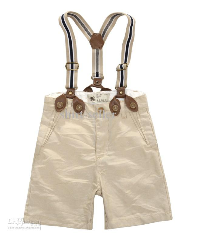 Children S Baby Overalls Suspenders Shorts Braces Pants