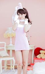 Wholesale Sheer Christmas Lingerie - Fashion sexy lingerie sexy lingerie T-BACK SUIT FSH81 Black Pink Fsh48