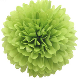 Wholesale Tissue Paper Wholesale Free Shipping - 40pcs 14inch 35cm Tissue Paper Pom Poms Wedding Party Decor Craft, Mix colors uPick FREE SHIPPING