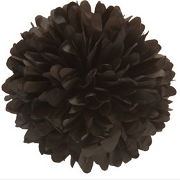 Wholesale Tissue Paper Wholesale Free Shipping - 50pcs 8inch 20cm Tissue Paper Pom Poms Wedding Party Decor Craft, Mix colors uPick FREE SHIPPING