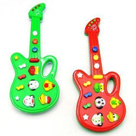 Juguete musical de la guitarra el/éctrica Juego para el ni/ño del cabrito Juguete electr/ónico del aprendizaje del ni/ño