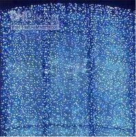 ingrosso luci fiabesche rgb-110 V / 220 V Tenda Luce 10 * 5 M 10 * 3 M 5 * 4 M 8 * 0.65 M 4 * 4 M led Stringhe Fairy Festival hotel festa di nozze Luci Di Natale backgroud libero L102