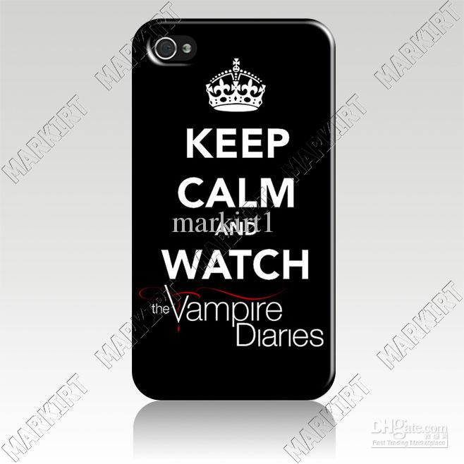 Cool 4izc2214 Keep Calm And The Vampire Diaries Hard Case