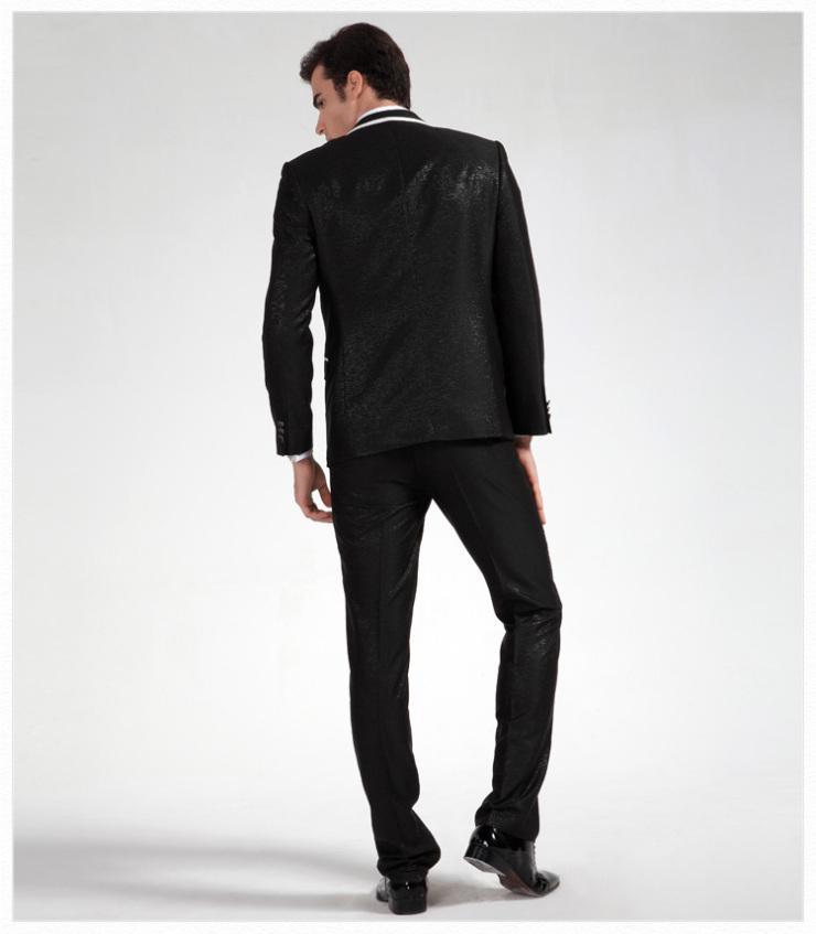 Chaude Recommander Hommes Blazer Robe De Mariage De Bal Vêtements De Marié Smokings Business Costumes Personnaliser vêtements + pantalon + cravate pas: 8020